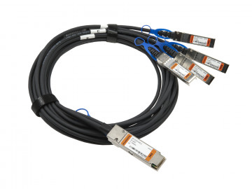 QSFP28 to 4x SFP28 DAC Breakout, ind. passive