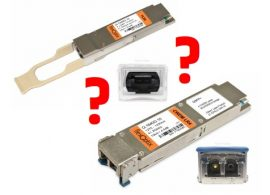 The QSFP+ transceiver comparison