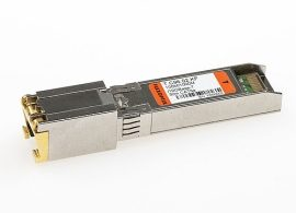 10GBase-T copper SFP+ with RJ45